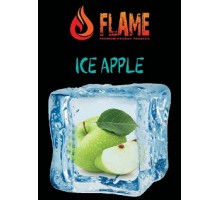 Табак для кальяна Flame Ice apple / Ледяное яблоко 100 грамм