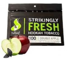 Табак для кальяна Fumari Double Apple / Двойное яблоко 100 грамм
