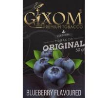 Табак для кальяна Gixom Blueberry /  Черника 50 грамм