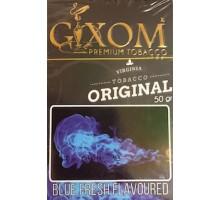 Табак для кальяна Gixom Blue Fresh / Голубая Свежесть 50 грамм