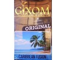 Табак для кальяна Gixom Caribbean Fusion / Карибиан Фьюжн 50 грамм