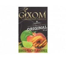 Табак для кальяна Gixom Baked Peach / Жаренный Персик 50 грамм