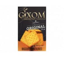 Табак для кальяна Gixom Biscuit / Бисквит 50 грамм