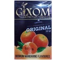 Табак для кальяна Gixom Bodrum Mandarine /  Мандарин 50 грамм