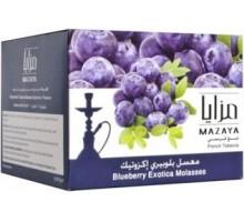 Табак для кальяна Mazaya Blueberry Exotica / Екзотическая черника 250 грамм