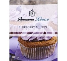 Табак для кальяна Panorama Blueberry Muffin / Черничный маффин 100 грамм