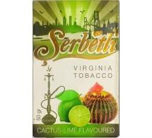 Табак для кальяна Serbetli Cactus Lime / Кактус лайм 50 грамм
