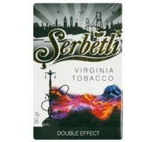 Табак для кальяна Serbetli Double Effect / Двойной эффект 50 грамм