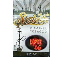 Табак для кальяна Serbetli Love 66 / Лав 66 50 грамм