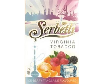 Табак для кальяна Serbetli Ice Berry Tangerine / Ледяная ягода мандарин 50 грамм