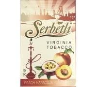 Табак для кальяна Serbetli Peach Maracuja / Персик маракуйя 50 грамм