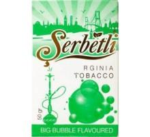Табак для кальяна Serbetli Big Bubble / Зеленая Жевательная Резинка 50 грамм
