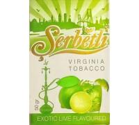 Табак для кальяна Serbetli Exotic Lime / Екзотический лайм 50 грамм