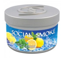 Табак для кальяна Social Smoke Arctic Lemon / Арктический Лимон 100 грамм