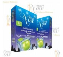 Табак для кальяна Start Now American Green Apple / Зеленое яблоко Лёд 50 грамм