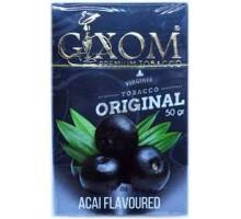 Табак для кальяна Gixom Acai / Асаи 50 грамм