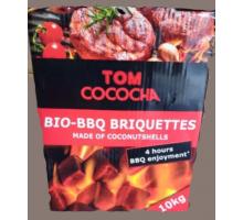 Уголь для кальяна, барбекю Tom Coco BBQ  2,5 кг (90 шт)