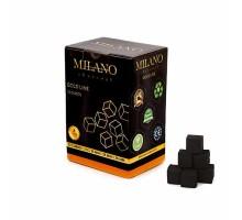 Уголь кокосовый Milano 1 кг (72 шт) большой кубик