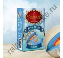 Табак для кальяна Pelikan Blue Fresh Melon / Свежая Голубая Дыня    50 грамм