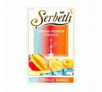 Табак для кальяна Serbetli Ice Orange Mango / Ледяной Апельсин Манго 50 грамм